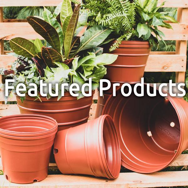 Nursery Supplies Plastic Plant Pots